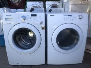 Samsung washer and gas dryer for Sale in San Marcos, CA