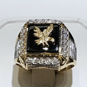 *NEW ARRIVAL* Beautiful Two Tone CZ Eagle Ring Jewelry Size 7-13 *See My Other 500 Items* for Sale in Palm Beach Gardens, FL