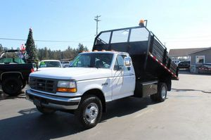 1995 FORD F450 DUMP TRUCK for Sale in Spanaway, WA