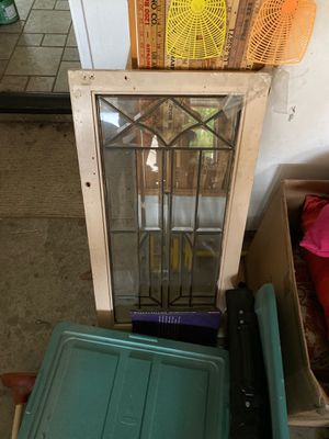 Antique leaded glass window - barnhouse for Sale in Rancho Santa Margarita, CA