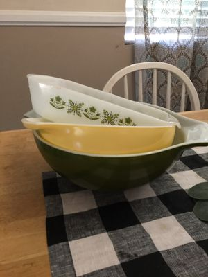 $10-$15 EACH vintage Pyrex and fire king for Sale in Orange, CA