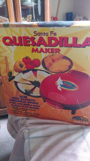 SANTA FE QUESADILLA MAKER for Sale in Alexandria, VA