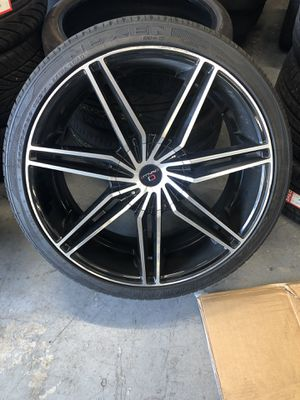 22 inch Cavallo Wheels and Tires For Sale for Sale in TWN N CNTRY, FL