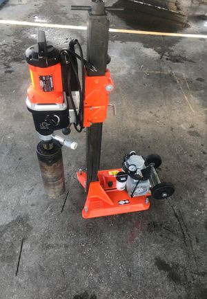 "Core Bore core drill w/ 5"" bit and vac pump for Sale in Hollywood, FL"