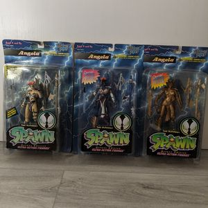 Spawn Deluxe Special Limited Ultra Action Figures Angela Lot 3 new in box for Sale in Wesley Chapel, FL