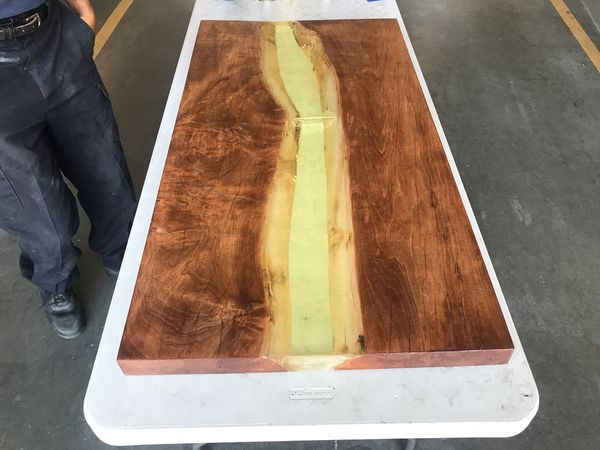 Epoxy Resin River Table For Sale In Raleigh Nc Offerup