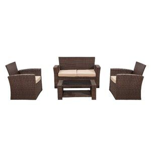 Beautiful 4-Piece Patio Furniture Patio Set for Sale in Los Angeles, CA