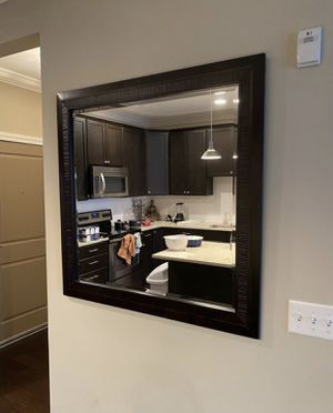 Large mirror with dark frame for Sale in Columbus, OH