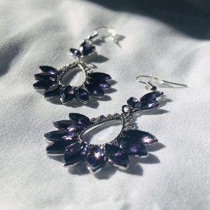 Stunning Purple Diamond Earrings for Sale in Washington, DC