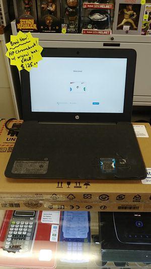 Brand New 2020 HP Google Chromebook w/ Original Box for Sale in Springfield, PA