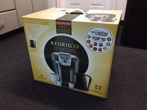 Keurig 550. Brand new. NEVER USED for Sale in North Attleborough, MA