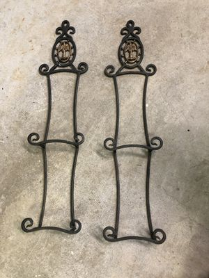 Antique iron plate holders for Sale in Shenandoah Junction, WV