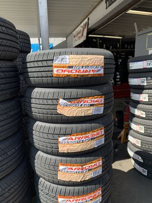 SET OF 4 NEW TIRES FOR SALE LOWEST PRICES CALL OR TEXT FOR A QUOTE for Sale in Stockton, CA