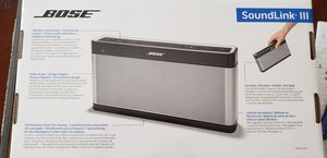 Bose Soundlink III Bluetooth Speaker for Sale in Fairfax, VA