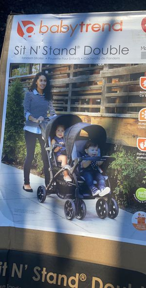 BABYTREND DOUBLE STROLLER for Sale in Pomona, CA