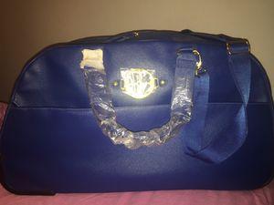 IMAN Blue Duffle bag $45 for Sale in Zephyrhills, FL