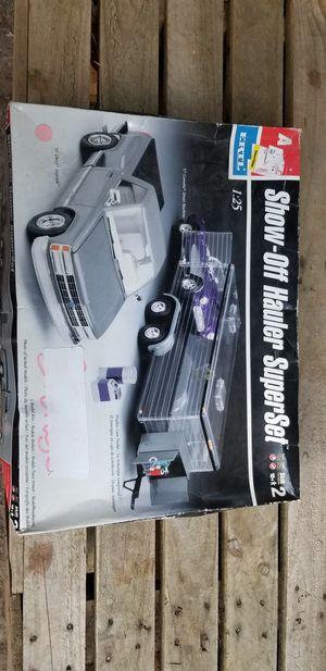 91 Chevy stepside / Corvette toy hauler model kit for Sale in Bremerton, WA