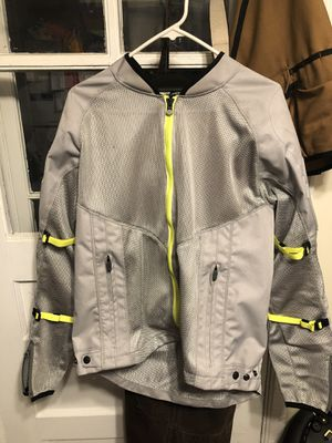 Icon Mesh AF motorcycle jacket, L, lightly used for Sale in Worthington, OH