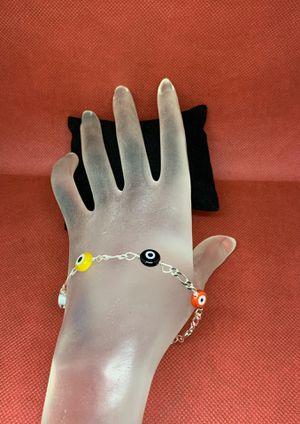 925 sterling silver bracelet with Turkish eye for Sale in Whittier, CA