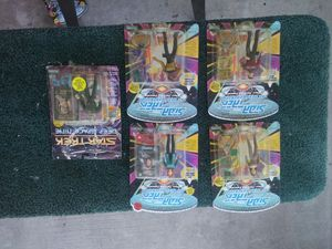 Star trek action figures collection for Sale in Lake Wales, FL