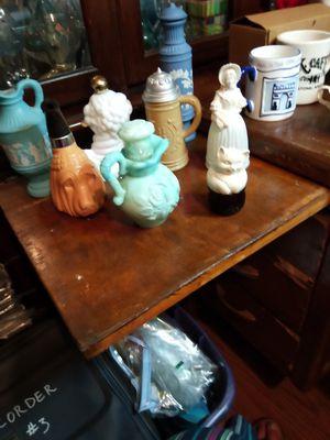 Vintage 8 avon bottles cologne for Sale in Fort Worth, TX