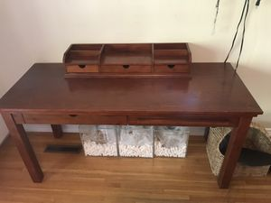Pottery Barn Desk and Chair for Sale in Los Angeles, CA