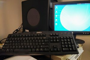 Vintage Dell computer with monitor mouse keyboard for Sale in Fort Lee, NJ