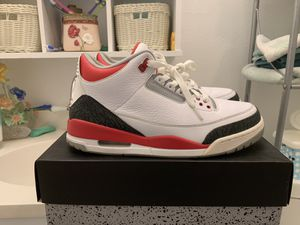 Air Jordan fire red 3s size 10.5 for Sale in Houston, TX