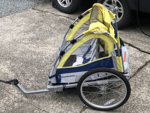 Schwinn 2 kid bike trailer for Sale in Gig Harbor, WA