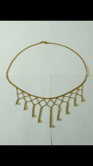 New *BEAUTIFUL* Solid 14k Solid Yellow Gold Woman's GARGANTILLA Necklace $500 OR BEST OFFER for Sale in Scottsdale, AZ