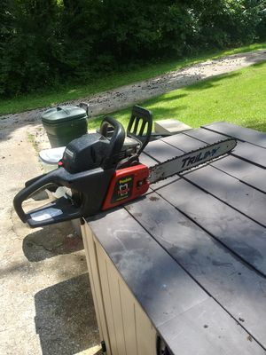 Poulan predator 18 in chainsaw for Sale in Swansea, IL