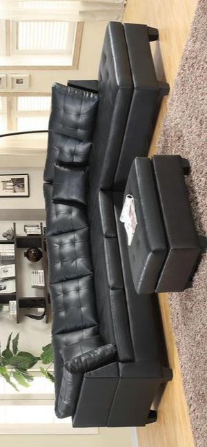 Pollock Black Sectional for Sale in Baltimore, MD