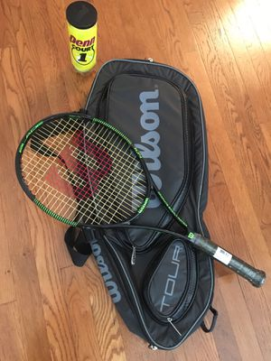 Tennis racket - Wilson (with case) for Sale in Falls Church, VA