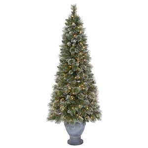 6.5' frosted lighted tree/ table center piece for Sale in Pleasanton, CA