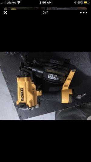 Dewalt roof nail gun new for Sale in Jonesboro, GA