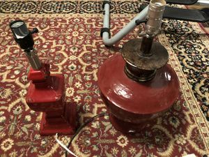 2 antique lamps for Sale in London, OH