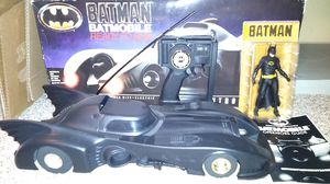 Richman 1989 Batmobile RC car with 1989 Batman NECA TRU exclusive action figure for Sale in Colorado Springs, CO
