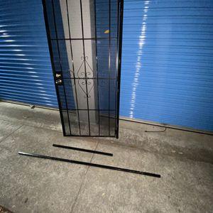 Metal Security Screen Door for Sale in Concord, CA