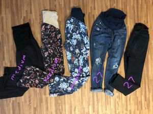 Maternity Clothes  pants/jeggings/jeans  for Sale in Rancho Cucamonga, CA