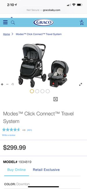 Graco snug ride click connect for Sale in West Covina, CA