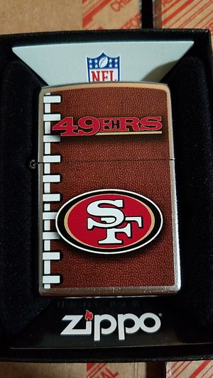Zippo NFL san Francisco 49er street chrome 72476 for Sale in Los Angeles, CA