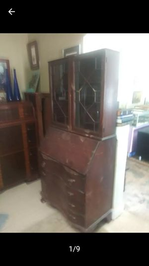 Antique secretary desk for Sale in Stockbridge, GA
