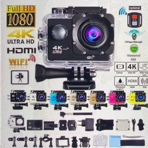 2019 Hot 4K Outdoor Sports Camara 1080p WiFi 30m Waterproof 170 Degree Wide-angle Lens 12 MP/5MP Extreme Sports Photography DV Sports Camara Camcorder for Sale in Cleveland, OH