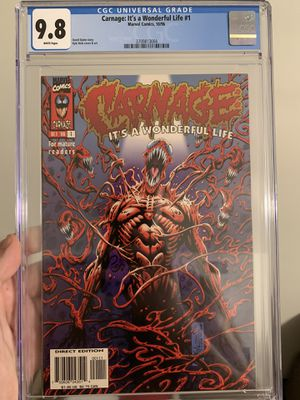 Carnage It's A Wonderful Life 1 CGC 9.8 for Sale in Stanton, CA