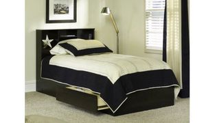 Twin mates bed frame no mattress include for Sale in Fort Worth, TX