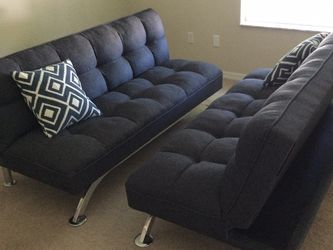 Convertible Futons Fabric 2 for Sale in Oviedo,  FL