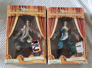 Brand new 2000 collectors edition n'sync j.c and justin dolls for Sale in Portland, OR
