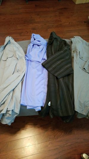 5 Mens medium shirts (price is for all) for Sale in Durham, NC