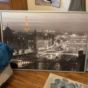 Large Photo Of Paris France for Sale in Portland, OR