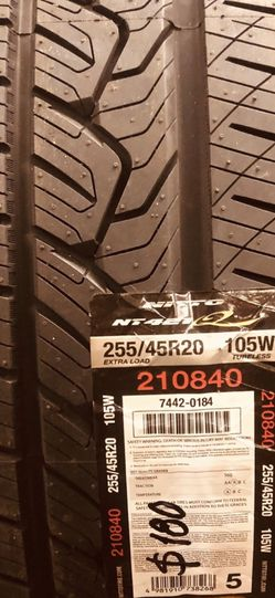 NEW NITTO TIRES. for Sale in Bell Gardens,  CA